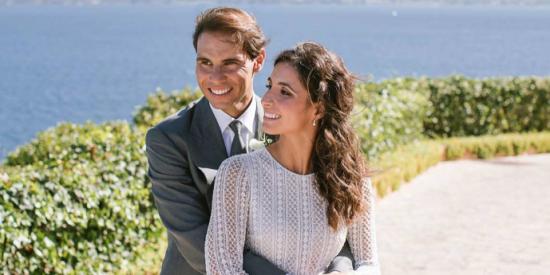 Rafa Nadal se vuelca con sus fans y filtra dos fotografías de su boda con Xisca Perelló