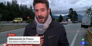 El Quilombo / La maldición de la momia de Franco cae sobre este reportero de TVE: