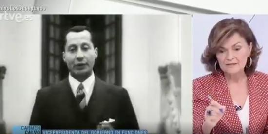 El taxativo mandato de Carmen Calvo sobre la tumba de Primo de Rivera que ha puesto de uñas a toda la izquierda radical