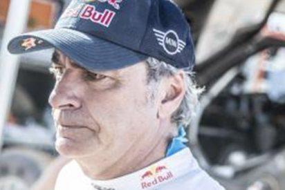 """Carlos Sainz muy cabreado ante la ausencia de su hijo en la televisión durante el GP de Japón: """"¡Parece que es invisible!"""""""