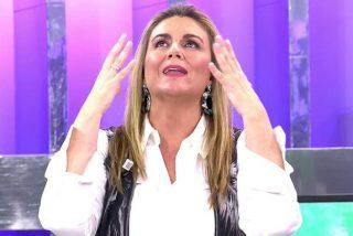 El infierno de Carlota Corredera y su nuevo aumento de peso: En 'Sálvame' no gustan los gordos y ella lo va a pasar mal
