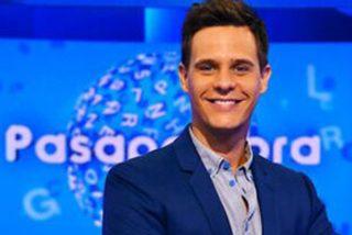 Christian Gálvez resume en un tuit de '12 palabras' lo que siente tras fumigar Vasile 'Pasapalabra' de la parrilla de Telecinco