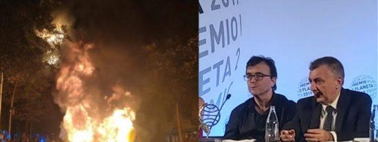 El Premio Planeta más 'caliente': una gala de lujo en medio de una violencia de libro