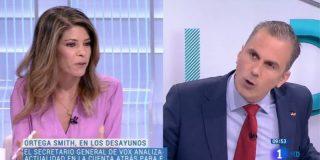 Ortega Smith deja con la cara demudada a una progre periodista de El País desmontándole una burda patraña sobre la violencia de género