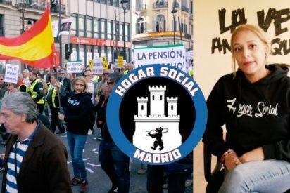 """Los 'okupas patrióticos' de Hogar Social: """"Nuestros políticos gobiernan más para los extranjeros que para los españoles"""""""