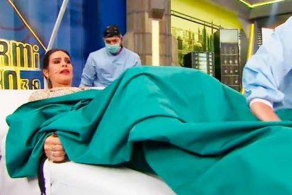 Cristina Pedroche da a luz en 'El Hormiguero' usando un paritorio centrífugo