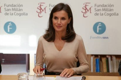 """Doña Letizia estrena lookazo en La Rioja: """"Estupenda, inteligente y amable"""""""