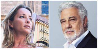 """La encendida defensa de Plácido Domingo por parte de una prestigiosa arpista: """"No es un ser baboso"""""""