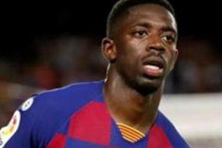 """Dembélé fue expulsado por decirle a Mateu Lahoz: """"eres muy malo"""""""