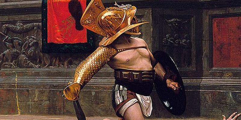 """Descubren en una antigua taberna de Pompeya un fresco """"extremadamente realista"""" de gladiadores"""