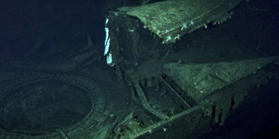 Descubren este portaviones japonés hundido durante la Segunda Guerra Mundial en el océano Pacífico