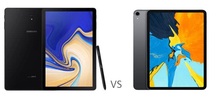 Diferencias tablet ipad
