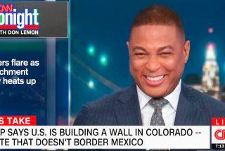 La ultima barbaridad de Donald Trump provoca un ataque de risa en directo al presentador estrella de la CNN