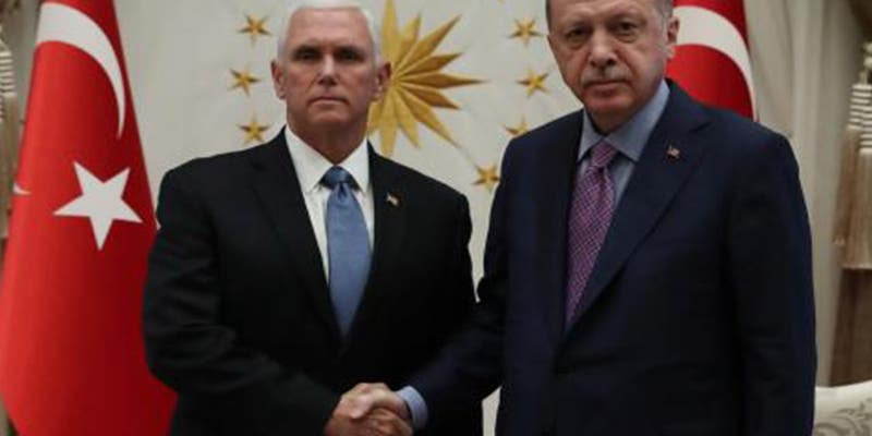EE.UU. y Turquía acuerdan un alto el fuego en la ofensiva del ejército de Erdogan en Siria