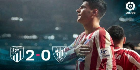 El Atlético recupera su ADN ganador