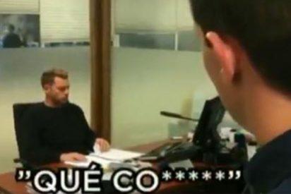 """'El Chiringuito' le hace un 'Polonia' al vídeo ridículo de Quim Torra: """"Roncero... que no se quiere poner"""""""