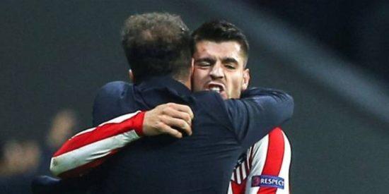 El Atlético de Madrid sufre pero la cabeza de Morata se carga a última hora al Leverkusen (1-0)