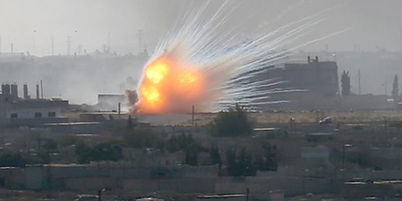 Soldados turcos ocupan la ciudad siria de Ras al-Ayn