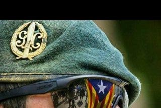 "El destino susurró al Guardia Civil: ""Tú no puedes soportar la tormenta"". Y el Guardia Civil devolvió el susurro: ""Yo soy la tormenta""."