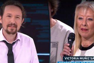 """'El Objetivo': Victoria le dice a Iglesias lo que sus adulones nunca le dirían: """"Están perdiendo y van a perder más"""""""