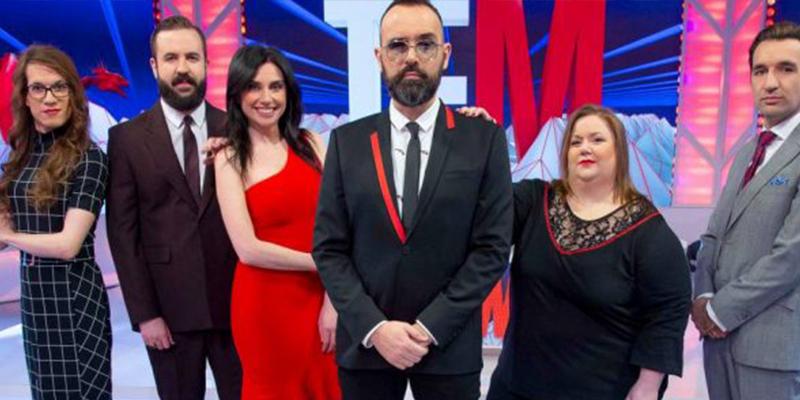 El acomplejado de Risto Mejide y su 'banda de cómicos chabacanos' hunden la audiencia de Cuatro