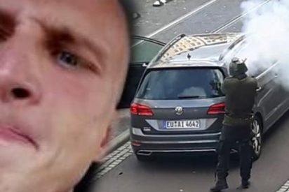 """El asesino de la sinagoga alemana, Stephan Balliet: """"Hola, soy Anon y no creo que haya sucedido el Holocausto"""""""
