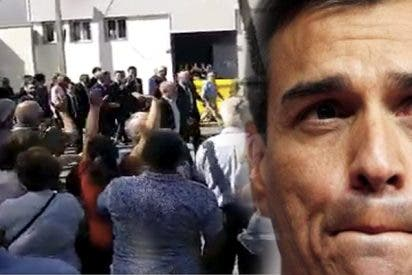 El 'cariñoso' recibimiento de los ganaderos extremeños a Pedro Sánchez: «¡Fuera, vas a arruinar España, cabrón!»