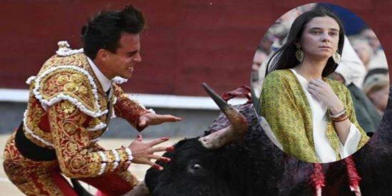 Victoria Federica fue la primera en correr a la enfermería de Las Ventas tras la terrorífica cornada que sufrió el torero Gonzalo Caballero