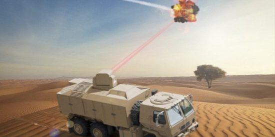 El ejército de EE.UU. creará un láser antiaéreo super potente de 300 kilovatios