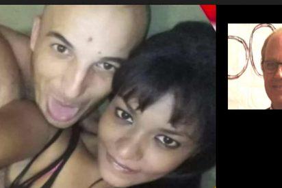 La venezolana gancho sexual y el asesino marroquí, después de enterrar vivo al informático vasco, sacaron dinero de su cuenta y vendieron su coche por internet
