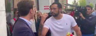 El rapero Valtonyc, aliado de terroristas e indepes, intenta acojonar a un militante de VOX en Bruselas