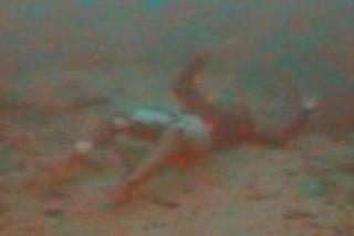Encuentran en el fondo del mar Mediterráneo a una mujer abrazada a su bebé
