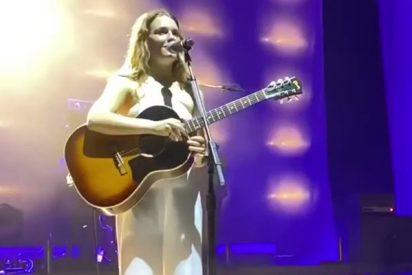 Esta cantante estadounidense denuncia que fue acosada sexualmente en pleno concierto