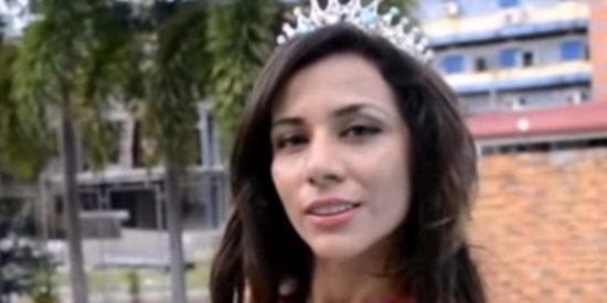 Esta reina de belleza iraní pide asilo en Filipinas porque teme por su vida