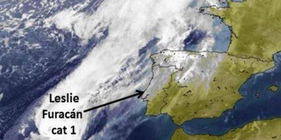 """Estas son las """"anomalías"""" en el Atlántico que los expertos creen explican la mayor llegada de huracanes a España"""
