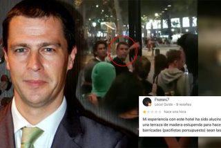 """Este es Raimon, el director del hotel de lujo de Barcelona que dio refugio a los violentos: """"Estáis en casa"""""""