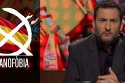 Este es el hipócrita Toni Soler, agitador de Tsunami 'democratic' que vive de TV3 y productor del acomplejado Risto Mejide