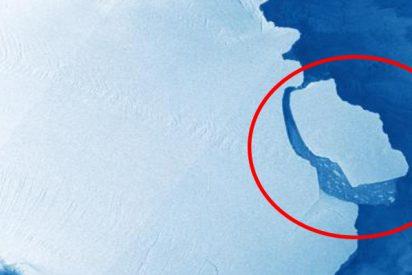 ¿Sabes hacia dónde se dirige ahora A68, el iceberg más grande del planeta, desprendido de la Antártica?