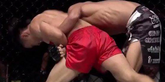 Este luchador japonés sufre una escalofriante lesión de codo en una pelea de MMA
