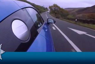 Este youtuber publica en Facebook cómo circula a gran velocidad por una carretera peligrosa y le cuesta más de 1.500 dólares