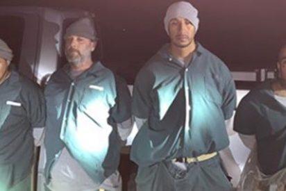 Estos 4 presos de EE.UU. escapan y vuelven con botellas de whisky