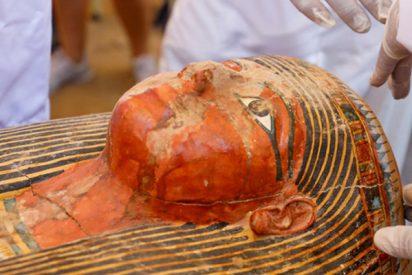 Estos son los nuevos detalles que ya se conocen de los 30 ataúdes con momias descubiertos en Egipto