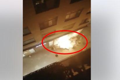 Fanáticos catalanes prenden fuego a una tienda de Zara en Lérida en las protestas por la sentencia del 'procès'