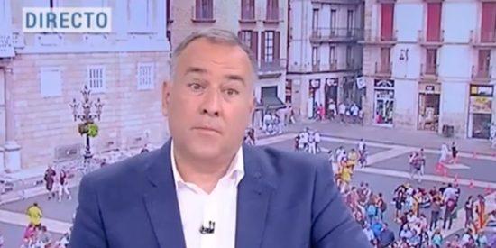 Manipulación en TVE: pillamos otra vez al 'comisario' Fortes cag***o y sin papel