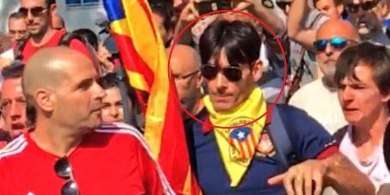 'La ley del Embudo en Cataluña': El facineroso del disparo al helicóptero de los Mossos, en libertad y acusado sólo de desórdenes