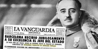 Los catalanes en general y Barcelona en particular, adoraban al dictador Francisco Franco