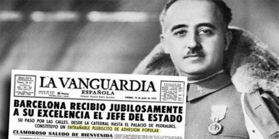 Los catalanes en general y Barcelona en particular, adoraban al dictador Francisco Franco