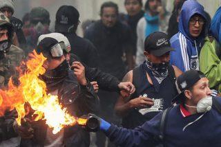 'Arde Ecuador': Brutales disturbios callejeros en la jornada de protesta contra el 'paquetazo' de Lenín Moreno