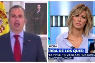 """EN DIRECTO El Quilombo / Ortega Smith le para los pies a Griso tras soltar tres mentiras en 15 segundos: """"¡No he dicho nada de lo que me atribuye!"""""""