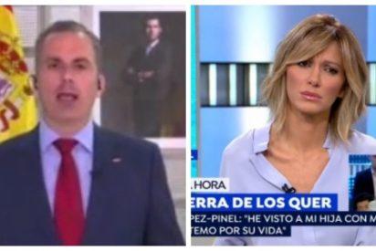 """El Quilombo / Ortega Smith le para los pies a Griso tras soltar tres mentiras en 15 segundos: """"¡No he dicho nada de lo que me atribuye!"""""""
